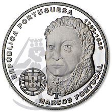 Compositores Europeus - Marcos Portugal (Prata Proof)