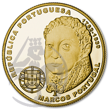 Compositores Europeus - Marcos Portugal (Ouro Proof)