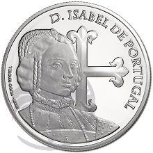 D. Isabel de Portugal (Prata Proof)