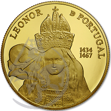 D. Leonor de Portugal (Ouro Proof)